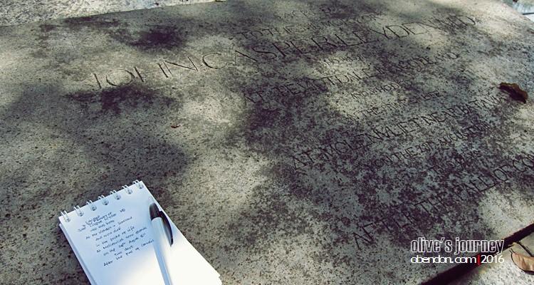 John Casper Leyden, MD, museum taman prasasti, sahabat raffles