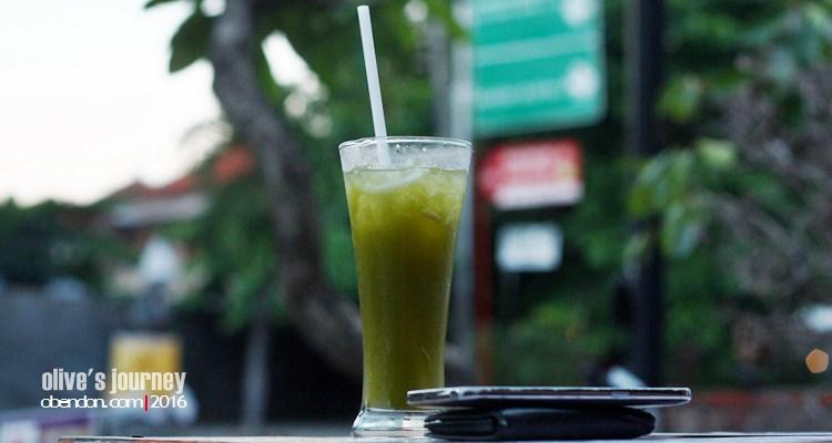loloh cem-cem, loloh bali, minuman tradisional bali, baliness healthy drink, warung bloem, bloem's waroeng