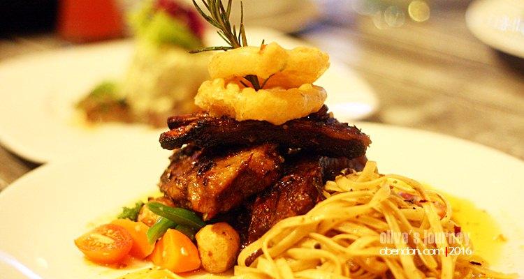 Tian of Tuna and Avocado, de basilico kitchen and bar, restaurant the one legian, kafe di legian