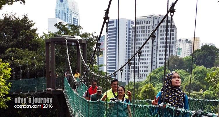 kl eco park, kl tower, menara kl, menara kembar petronas, icon kuala lumpur, eat travel doodle, canopy kl eco park