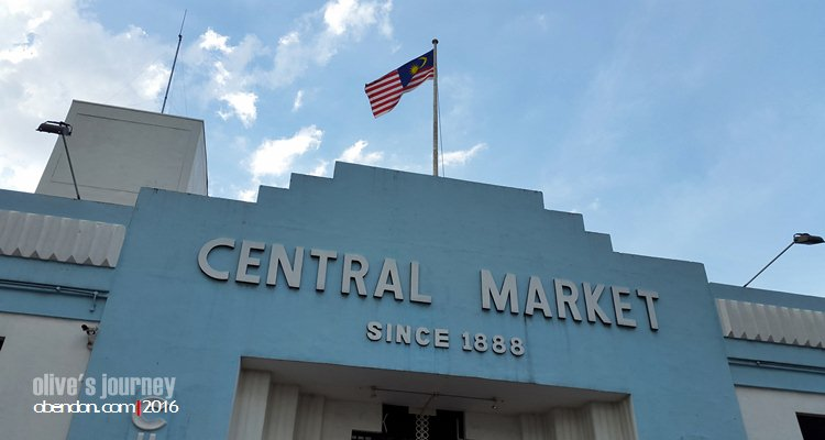 Central Market KL, Kasturi Walk Central Market, Tempat Belanja Oleh-oleh di KL, Belanja di Central Market