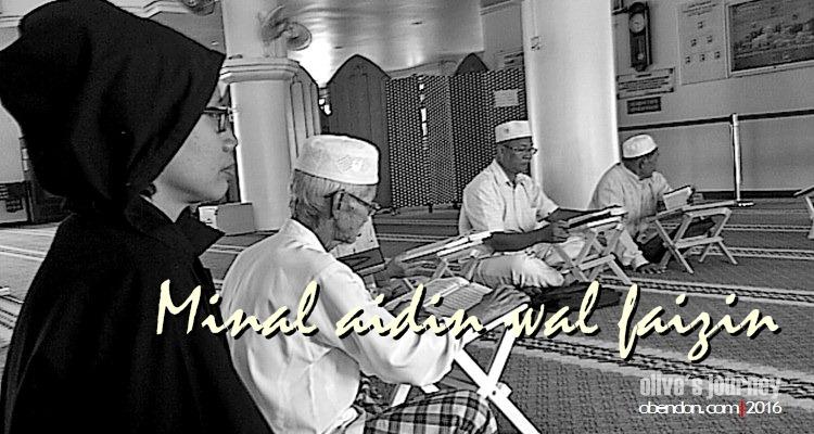 masjid kristal terengganu, lebaran, idul fitri, makna lebaran, makna ramadan