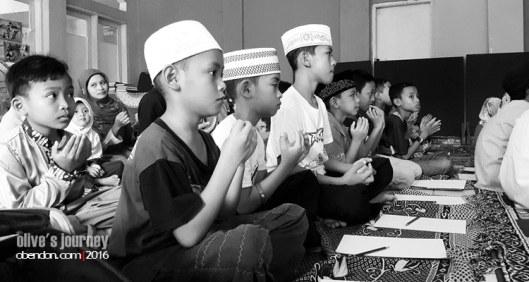 ramadan keliling, taman imani iqra, rumah ilmu