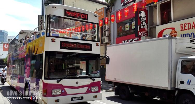 Hop on hop off Kuala Lumpur, Hoho Kuala Lumpur, bus wisata di Malaysia, double decker tour bus Kuala Lumpur, Istana Negara Kuala Lumpur