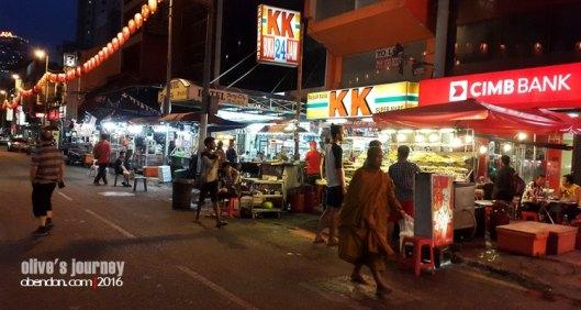 air mata kucing, petaling street, food stall at petaling street, china town kuala lumpur, cullinary china town kl