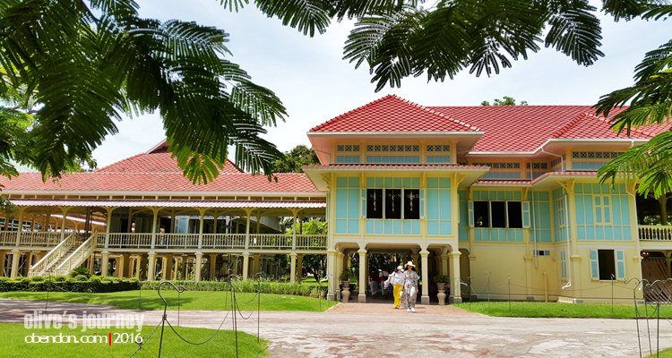 Maruekhathaiyawan, Mrigadayavan Palace, The Palace of Hope and Love, Hua Hin, Thailand Attraction