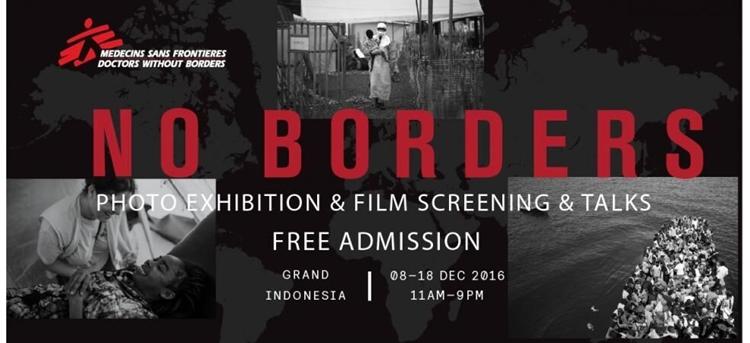 medecins sans frontieres, doctors without borders, dokter lintas batas, pameran foto MSF