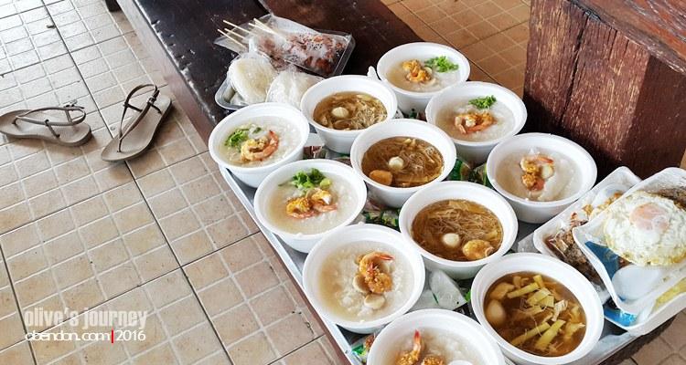 sarapan ala thailand, thai culinary journey, kuliner di hua hin