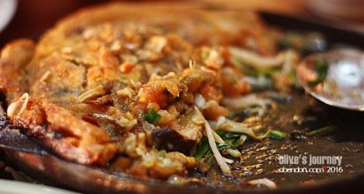telur dadar thailand, kuliner thailand, thai culinary journey