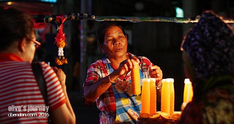 jus jeruk pattaya, kuliner thailand, street food thailand, thai culinary journey