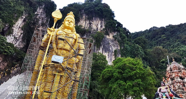 Dewa Murugan, batu caves, bagaimana ke batu caves, rentak selangor
