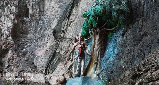 dewa murugan, batu caves, jumlah tangga batu caves, thaipusam batu caves, rentak selangor, dewa di batu caves, Soorapadman