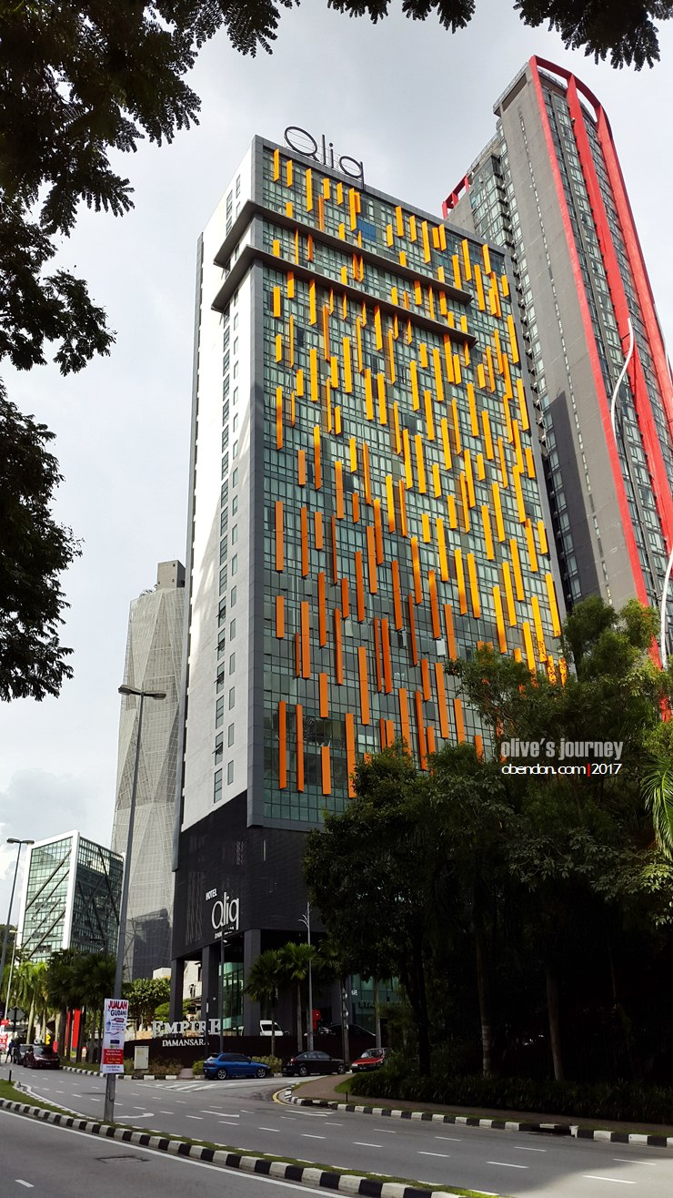 hotel qliq damansara, hotel di damansara, hotel di malaysia, empire damansara