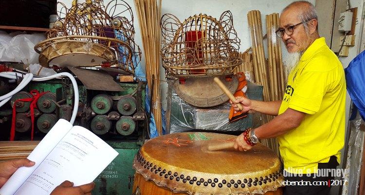 master of lion dance, master siow, rentak selangor, tari barongsai