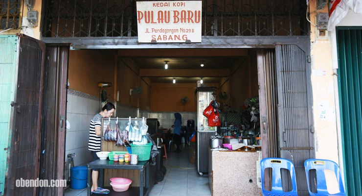 kedai kopi pulau baru, kedai kopi di sabang, mie jalak sabang, kuliner spesial sabang