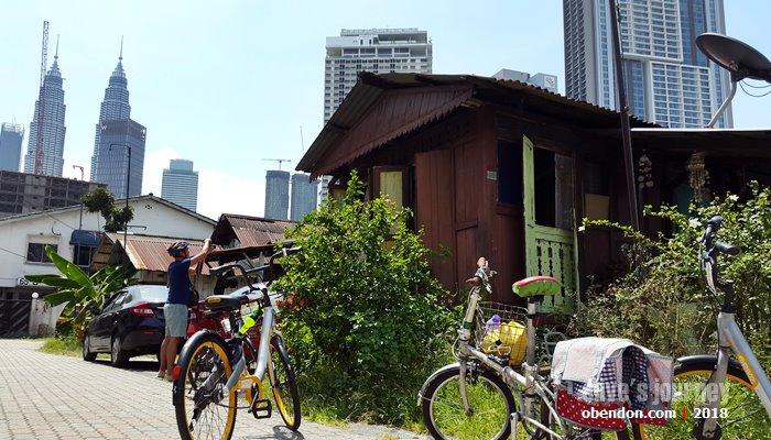 bike with elena, bersepeda di kuala lumpur, gowes heritage