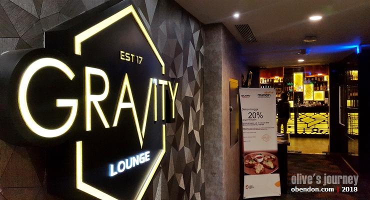 Jus markisa. gravity sky lounge, swiss-belhotel makassar
