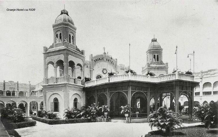 hotel majapahit surabaya, pertempuran surabaya 1945, sejarah hotel majapahit, hotel oranje, hotel yamato