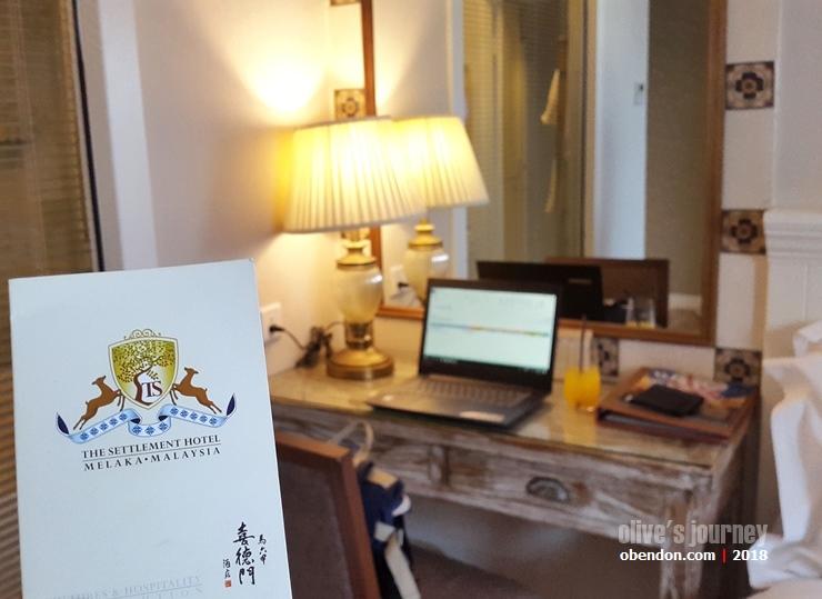 the setlement hotel, hotel melaka, hotel di melaka