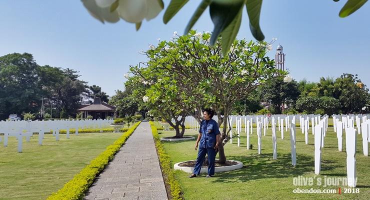ereveld, taman makam kehormatan belanda, kuburan belanda