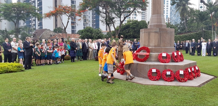 Jakarta War Cemetery, Commonwealth War Graves, Remembrance Day, Lois Indonesia, Lois Blog Contest