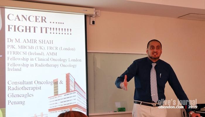 Dr Amir Shah, dokter Arifin Ilham, dokter kanker di Penang, ahli kemoterapi Penang