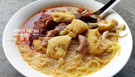 sister lim curry mee, the legend sister curry mee, curry mee ayer itam, curry mee penang