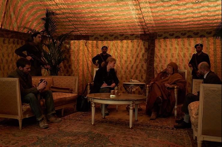 a private war, marie colvin, muammar khadaffi