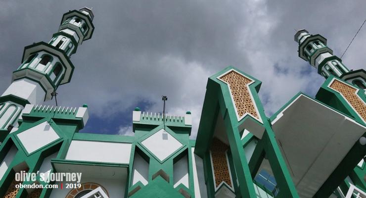 masjid raya singkawang, bangunan cagar budaya singkawang, pesona singkawang