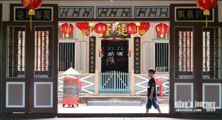 rumah keluarga thjia singkawang, bangunan cagar budaya singkawang, pesona singkawang