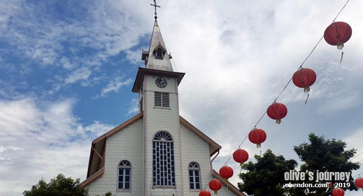 paroki santo fransiskus asisi singkawang, bangunan cagar budaya singkawang, pesona singkawang