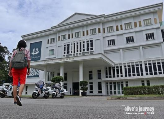 sejarah minangkabau di malaysia, galeri diraja tuanku ja'afar, museum di negeri sembilan, yang dipertuan agung malaysia, yang dipertuan besar negeri sembilan