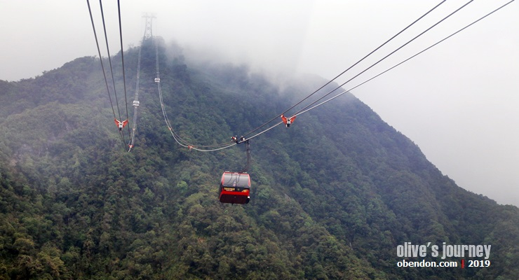 fansipan cable car, harga tiket fansipan cable car, fansipan mountain, perjalanan ke sapa