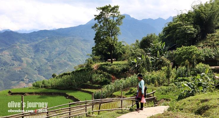 ethnic hmong, suku minoritas sapa, trekking di sapa, perjalanan ke sapa
