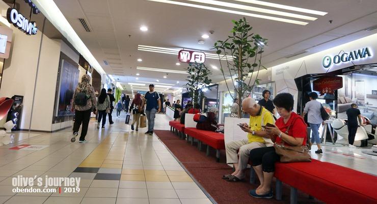 promenade 1 utama, walking street, 1 utama mall