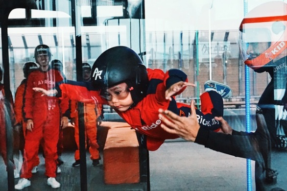 1 utama shopping centre, airrider skydiving