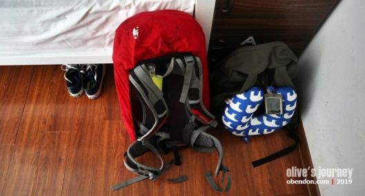 Deuter Spectro 30 , meywah, hanoi bacpackersuite hostel, trip to hanoi