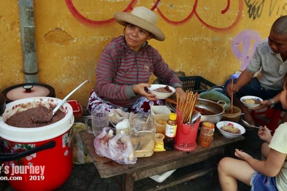 special cao in hoi an, porridge in hoi an, must eat in hoi an, breakfast in hoi an
