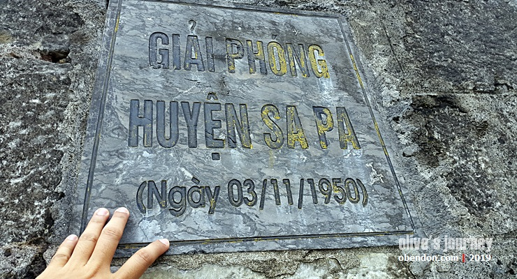 liberation of sapa monument, church in Sa Pa, sapa rock church
