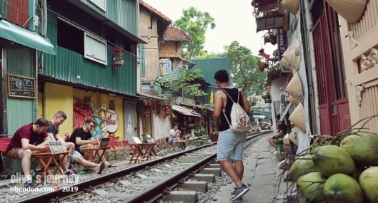 hanoi cafe, vietnam military museum, over tourism in vietnam, hanoi train street, where is hanoi train street