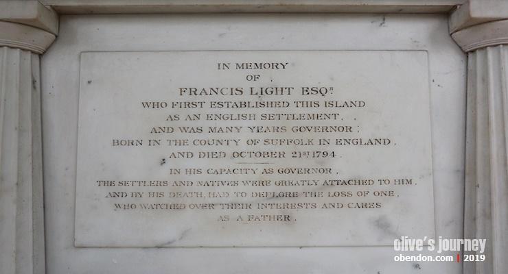 francis light, monumen francis light penang, traveloka xperience, xperienceseru