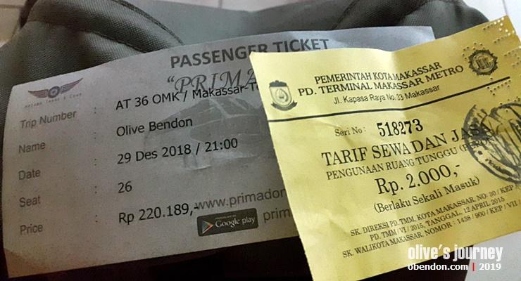 tiket bus primadona ke toraja, bus malam ke toraja, bus makassar toraja, info jadwal bus ke toraja