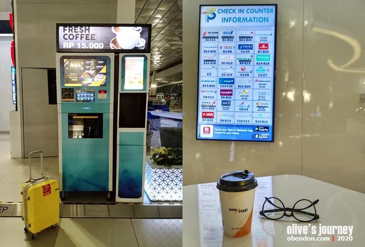 digital lounge soekarno hatta, mesin kopi di bandara soekarno hatta, fasilitas di terminal 3 soekarno hatta