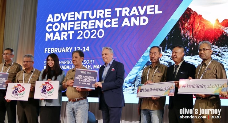visit malaysia 2020, numbers of touris arrival 2020 malaysia, pata travel adventure conference and travel mart 2020, visit sabah 2020