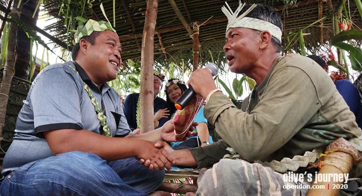 tok halak, tari sewang, orang asli temuan, indigenous people malaysia