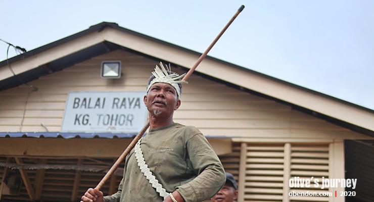 orang asli kampung tohor, orang asli temuan, tok batin apek, suku asli malaysia