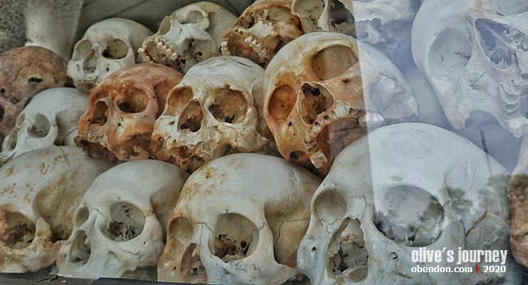 choeung ek, ladang pembantaian choeung ek, cara pergi ke choeung ek, choeung ek mass grave