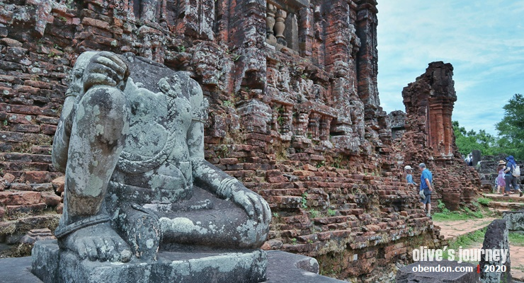my son sanctuary, the history of cham kingdom, jejak campa di Vietnam,sejarah kerajaan Campa