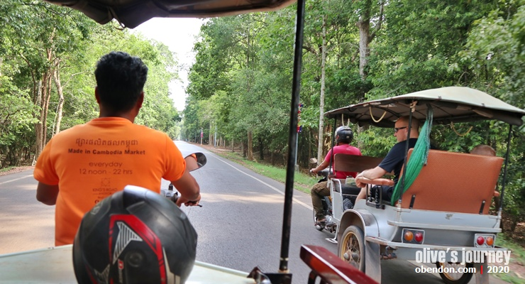 public transportion in cambodia, tuk tuk siem reap