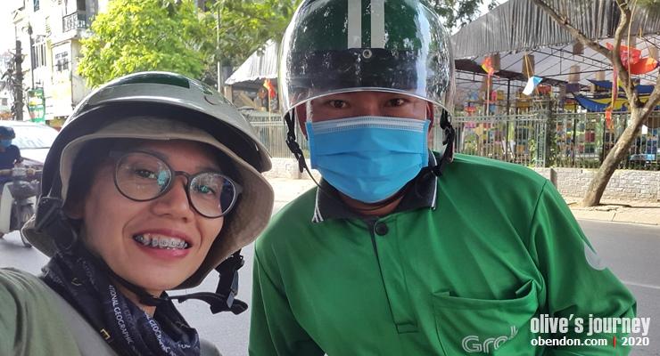 public transportion in vietnam, train service in vietnam, grabbike in vietnam, ojek orang vietnam